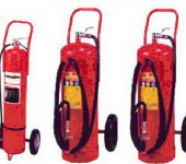 輪架式乾粉滅火器  wheeled  fire extinguisher